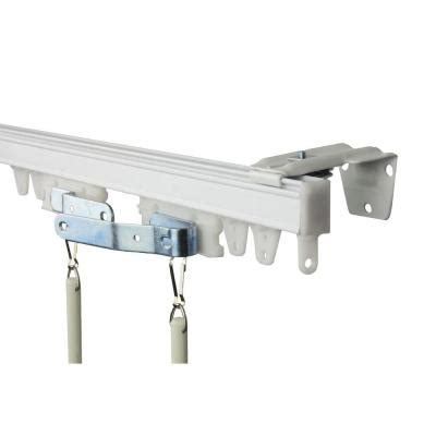 rod desyne 60 in commercial wall ceiling track kit tk5w