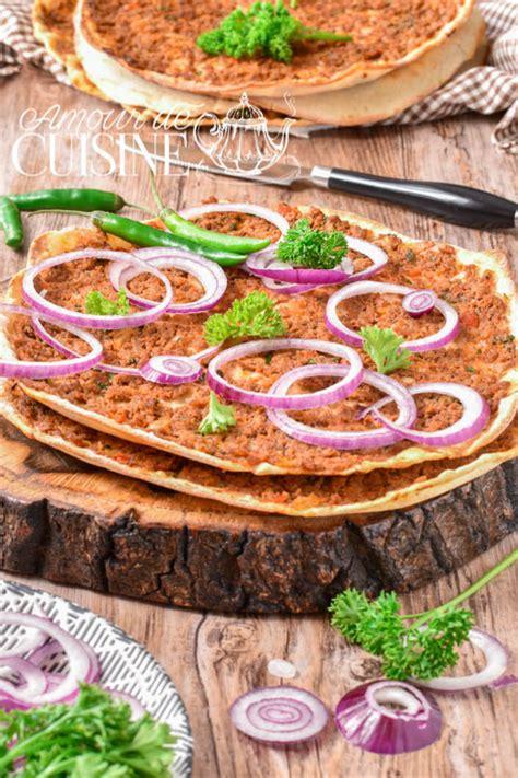 recettes de cuisine turque lahmacun la recette authentique de la pizza turque amour
