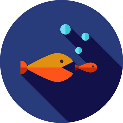 competition seo  web marketing seo fishes icon