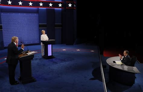election  final presidential debate  pictures