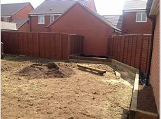 Paving, Raised Sleeper beds and Garden Lighting Wardens
