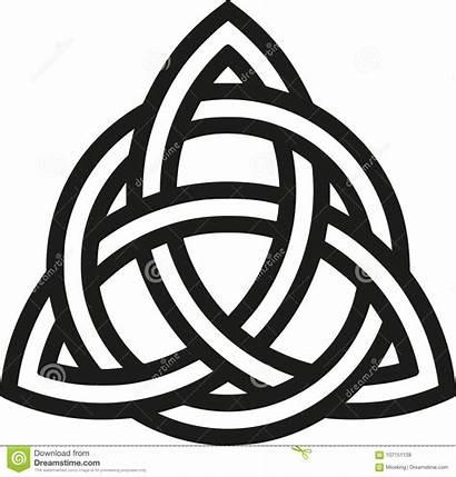 Celtic Knot Noeud Contours Celtico Nodo Keltische