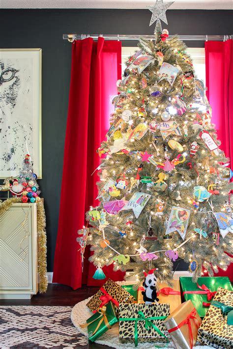 christmas themes ideas a colorful home tour part 2
