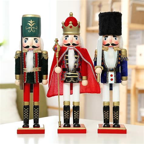 europe style pcslot cm wood figurine  nutcracker