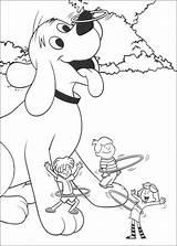 Clifford Hula Dibujos Colorear Colorir Disegni Desenhos Freunde Seine Hoop Colorare Hop Imprimir Wydrukuj Pokoloruj Dibujar Spielen Malvorlage Pintar Ausmalbilder sketch template