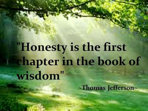 Honesty Quote,good Thought