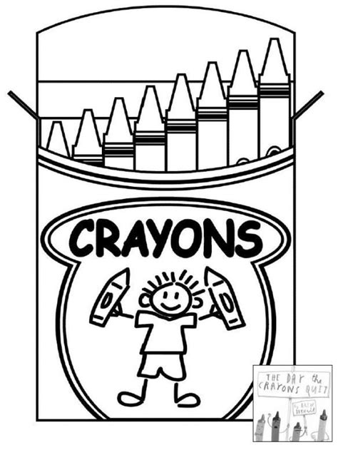day  crayons quit coloring sheet click pic