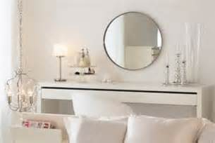 ikea malm dressing table with drawer modern white vanity
