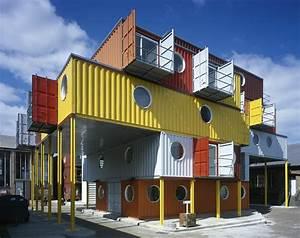 Container Haus Architekt : container architektur die 5 kreativsten containerh user aus europa ~ Indierocktalk.com Haus und Dekorationen
