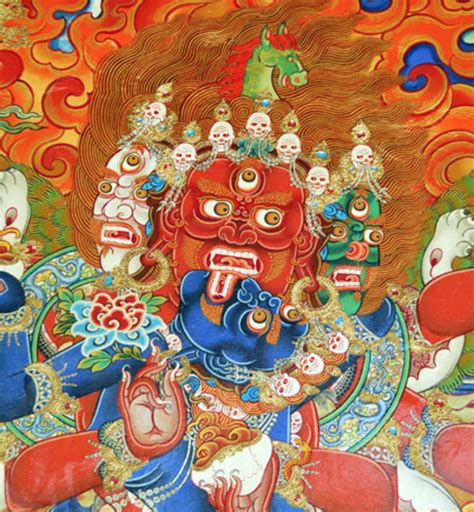 tantric wrathful deities  psychology  extraordinary