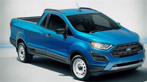 Ford Courier 2020 photoshop ford courier ecosport