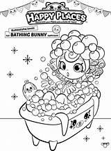 Shopkins Coloring Pages Shoppies Bubbleisha Shopkin Happy Places Bath Printable Colouring Sheets Shoppie Bathing Para Printables Bunny Colorear Doll Place sketch template