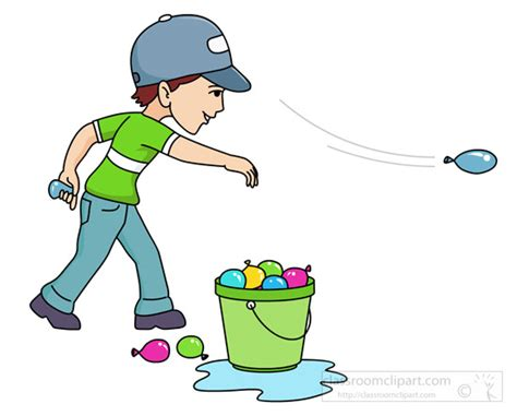 Water Play Day Clipart