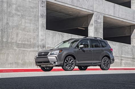 subaru forester xt touring  test motor