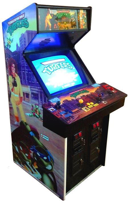 4 Player Arcade Cabinet by Arcade Specialties Ninja Turtles Tmnt Arcade Game