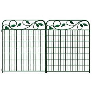 decorative garden fence panels fences