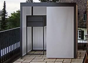 Sitzbank Mit Stauraum Für Balkon : metall werk z rich ag stauraum f r balkon ~ Michelbontemps.com Haus und Dekorationen