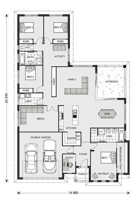 house floor plan builder coolum 268 our designs shoalhaven builder gj gardner