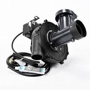 Water Heater Exhaust Vent Blower Assembly