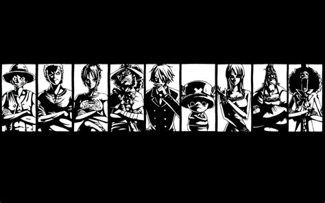 Black And White One Piece Wallpaper