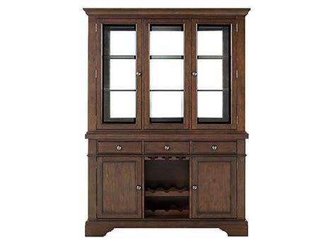 raymour flanigan china cabinet halloran 2 pc china cabinet w lighting and wine storage