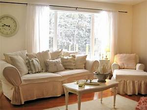 Shabby Chic Living Rooms Living Room and Dining Room