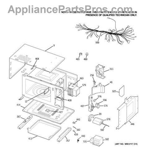 parts  ge jkpspss microwave body parts appliancepartsproscom