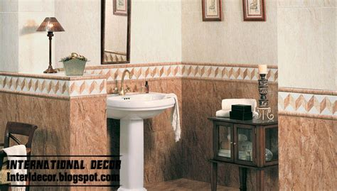 Ceramic Tile For Bathroom Walls by Classic Wall Tiles Designs Colors Schemes Bathroom