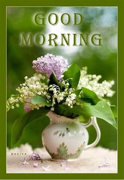 Morning Flowers Flower Sunday Gifs Lovethispic Pot