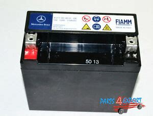 mercedes benz secondary backup auxiliary battery