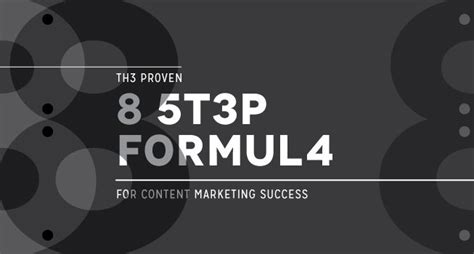 The Proven 8step Formula For Content Marketing Success