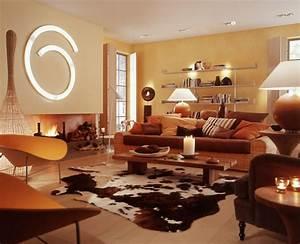 Wohnzimmer Farbe Ideen : wandfarben beispiele wohnzimmer ~ Orissabook.com Haus und Dekorationen