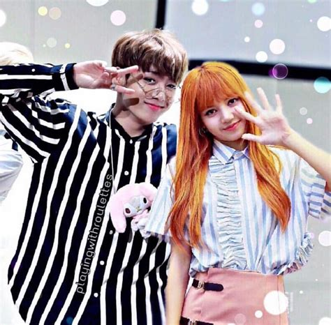 Sincerely praying for blackpink and bts to have interactions at mama. LISKOOK IS REAL | Lalisa, Casais perfeitos, K pop