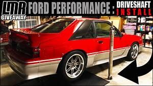 ⚠️ CRITICAL MASS / FOXBODY ALUMINUM DRIVESHAFT INSTALL / LMR GIVEAWAY - YouTube