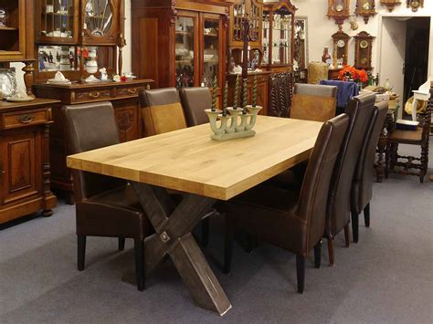 esstisch 8 personen maße esstisch tisch esszimmertisch dekorativ mit eichenplatte 100x220 massiv 4101 ebay