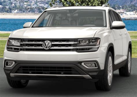 volkswagen atlas white 2018 volkswagen atlas exterior color options