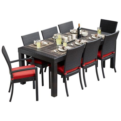 Rst Brands Deco 9piece Patio Dining Set With Cantina Red. Patio Furniture Replacement Elastic Straps. Patio Furniture Made From Shipping Pallets. Porch Swing With Stand. Patio Table Cover With Hole For Umbrella. Teak Patio Furniture Reviews. Patio Furniture Direct West Copans Road Pompano Beach Fl. Modern Patio Furniture Amazon. Patio Chair Cushions Walmart Canada
