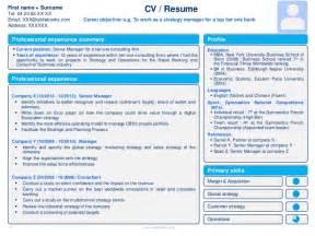 make resume in powerpoint resume cv templates in editable powerpoint