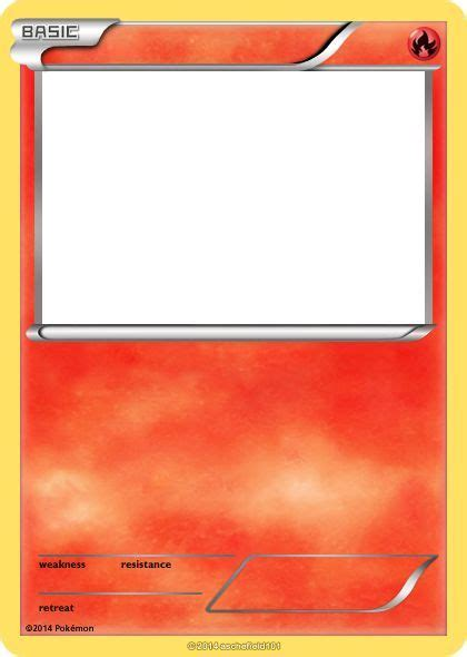blank fire pokemon cards images pokemon party