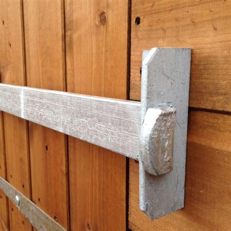 security bar for door a1 shedbar shed door security bar