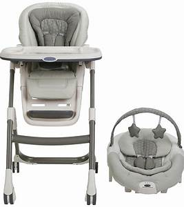 Graco sous chef high chair 5 in 1 seating system davis for Sous robe chair