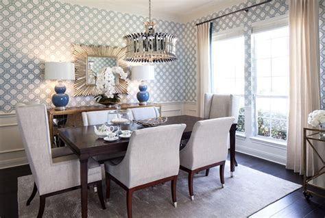 grasscloth wallpaper  dining room gallery