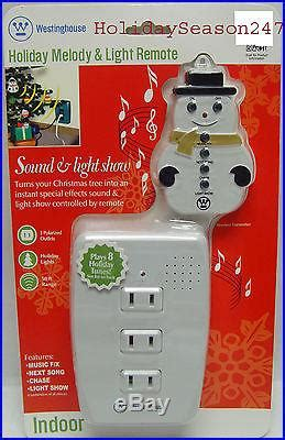 westinghouse holiday musical sound light show blinker