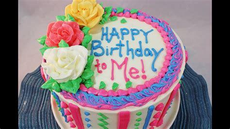 How To Make A Birthday Cake Beginners Tutorial Youtube