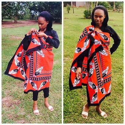 Swati Traditional Attire Lihiya Lady Clipkulture Swazi