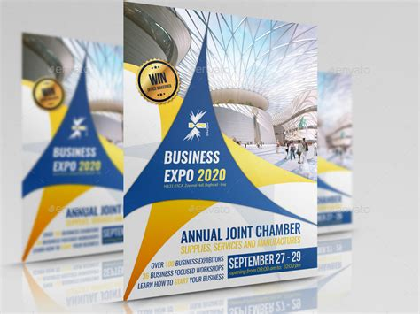 business expo flyer template  owpictures graphicriver