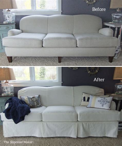White Denim Sofa by 9 Best Images About Peggy S White Denim Slipcover On