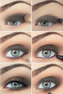 Blaue Augen Schminken Anleitung Mit Bildern Smokey Eyes F R Blaue