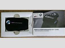 BMW OEM M Performance Alcantara Key Case F32 F33 F30 F25
