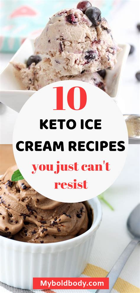 Because then every meal would feel like heaven and you wouldn't have to feel so guilty about it! 10 Delicious Keto Ice Cream Recipes You Can't Afford To ...